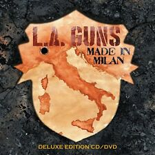 L.A. GUNS CD - MADE IN MILAN [CD/DVD DELUXE EDITION](2018) - NEW UNOPENED - ROCK