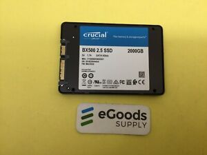 Crucial BX500 2TB 3D NAND SATA 6Gb/s 2.5-Inch Internal SSD CT2000BX500SSD1