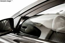 Heko Wind deflectors VW Volkswagen Caddy Mk3 2 door 2004-16 Front Left & Right