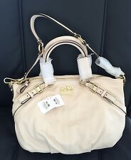 NWT Coach 15960 Madison Leather Sophia Satchel With Dost Bag