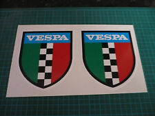 VESPA Shield (Pair) Scooter stickers
