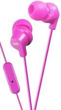 JVC HA-FR15 In Ear Canal Headphones Marshmallow Comfortable Fit Earphones PINK