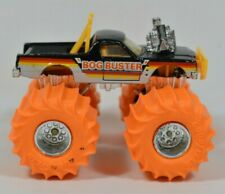 Vtg 1986 Matchbox Super Chargers BOG BUSTER Monster Truck with RARE Orange Wheel