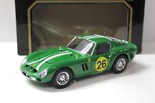1:18 Bburago Ferrari 250 GTO 1962 green #26 NEW bei PREMIUM-MODELCARS