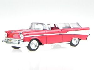 Chevrolet Nomad 1957 red diecast model car Yatming 1/43