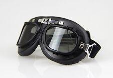 Aviator Pilot Cruiser Motorcycle&Bicycle Scooter ATV Goggles Eyewear Smoked Lens