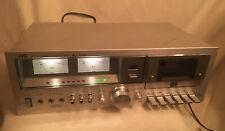 Vintage Rare Jvc Kd-55J Stereo Cassette Deck Super Anrs Tested Works Good