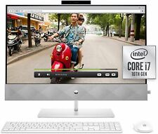 HP 27 Pavilion All-in-One PC, 10th Gen Intel i7-10700T Processor, 16 GB RAM, Dua