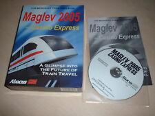 MAGLEV 2005 - MICROSOFT TRAIN SIMULATOR ADD-ON BOXED EDITION