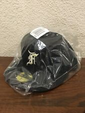 Fear of God Essentials FOG New Era 5950 Fitted Cap 59FIFTY BLACK - Size 3/4