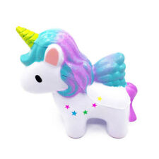 Jumbo Slow Rising Scented Unicorn Doll Squishy Squeeze Stress Toys Phone Charms