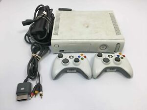 Microsoft Xbox 360 4GB Console w/ 2 Controllers and Wireless Network Adapter