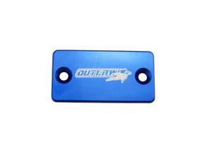 Outlaw Racing OR104BU Billet Front Brake Cap Blue KAWASAKI KLX300R 1997-2007