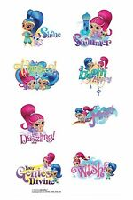 Shimmer and Shine Tattoos - Birthday Party Supplies - Favours and Loot Ideas