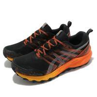 Asics GEL-Trabuco 9 G-TX Gore-Tex Black Orange Men Jogging Running 1011B027-002