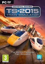 Train Simulator 2015 (PC DVD) BRAND NEW SEALED
