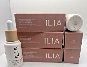 ILIA Super Serum Skin Tint BRAND NEW SPF 40 1 Oz Open Box NEVER USED