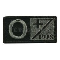 CONDOR 229O Tactical Militaty Blood Type Patch O POSITIVE O+ FOLIAGE