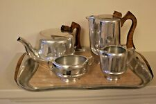 More details for vintage picquot ware  1950's tea set on original tray 100% charity donation