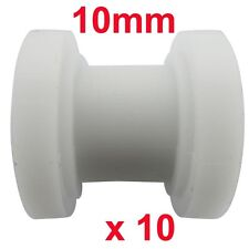 10x 10mm Chain Roller Slider Tensioner Pulley 110 125cc Dirt Pit Bike Motorcycle