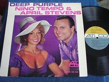 Nino Tempo & April Stevens/Deep Purple/1963 Mono/Sexy Cleavage/Atco 33-156/EX