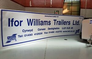 Ifor Williams Details Livestock Tipping Tiltbed Flatbed Trailer Decal Sticker