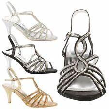 Women's Synthetic Slim Mid Heel (1.5-3 in.) Sandals & Beach Shoes