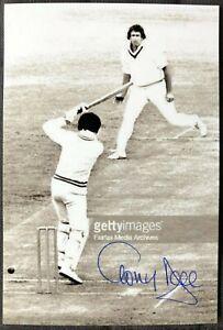 Australia Cricket Legend Tony Dell Signed Photo