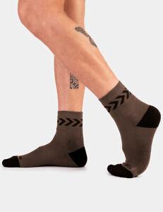 Barcode Berlin Petty Socks SS20 Braun / Black 91754/602 Sexy Quick Delivery