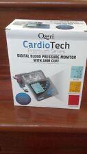 NEW Ozeri CardioTech Premium Series Color Digital Arm Blood Pressure Monitor NEW