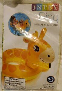 Intex Animal Split Ring Summer Pool Water Giraffe NEW