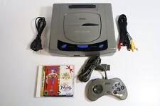SEGA Saturn Gray Console & Christmas Nights SS Japan Import US Seller SHIP FAST