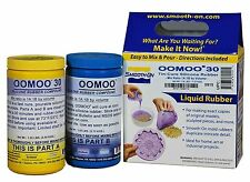 OOMOO 30 Silicone Mold making Rubber Casting Resin FAST Jewelry 2.8 lbs