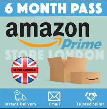 Amazon Prime UK 6 Month Student Pass + 4 Years of Half Price - Rapid Delivery!