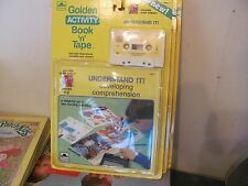 Golden Activity Book & Tape set New Sealed Understand It