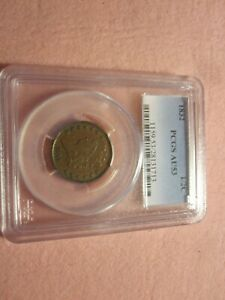 1832 Classic Head Half Cent PCGS graded AU53 (1/2C) Better Date