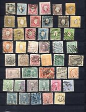 Portugal. 1855-1898. A collection of early used stamps.