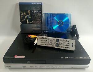 RCA DRC8030N DVD Recorder Player w/ 80GB Hard Drive 120HR DVR w/ remote Tested!