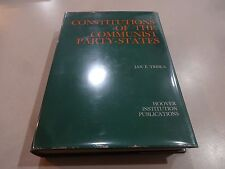Constitutions of the Communist Party-States- Jan F. Triska, 1968
