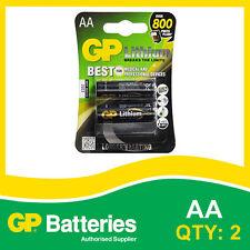 BATTERIA al litio AA GP SCHEDA DI 2 [fotocamere, apparecchiature mediche batterie + altri]