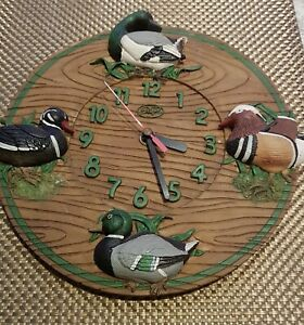 FOUR DUCKS BATTERY OPERATED CLOCK