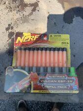 Nerf N-Strike Vulcan EBF-25 Refill Pack 25 Sonic Micro Darts & Ammo Belt NEW!!