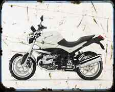 Bmw R1200R 10 1 A4 Metal Sign Motorbike Vintage Aged