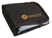 Hardy Leader Wallet Black Removable Insert 6 Compartment Fishing Line Pouch