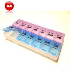 7 Tage Pillendose  Tablettenbox  Pillenbox  Tablettendose  Medikamentenbox