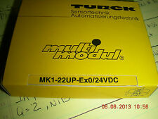 Turck Multimodule Switching Amplifier   PN:     mk1-22up-ex0/24vdc