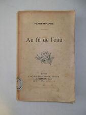 Henry Mirande.Au Fil de l'Eau.1905.