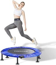 """Toncur Mini 36"""" Trampoline Fitness Foldable for Adults and Kids with Safety Pad/"""