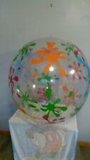 "48"" Inflatable Splash Beach ball Used"