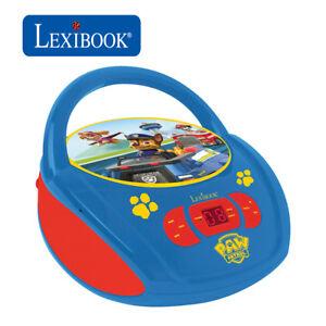 Lexibook Kids PAW Patrol Boombox Radio CD Player AUX FM Radio Stereo